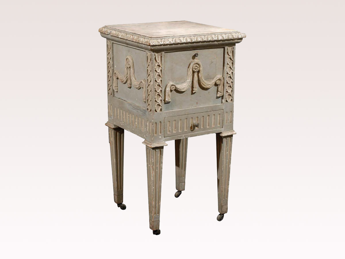 French 19th C. Nightstand Table