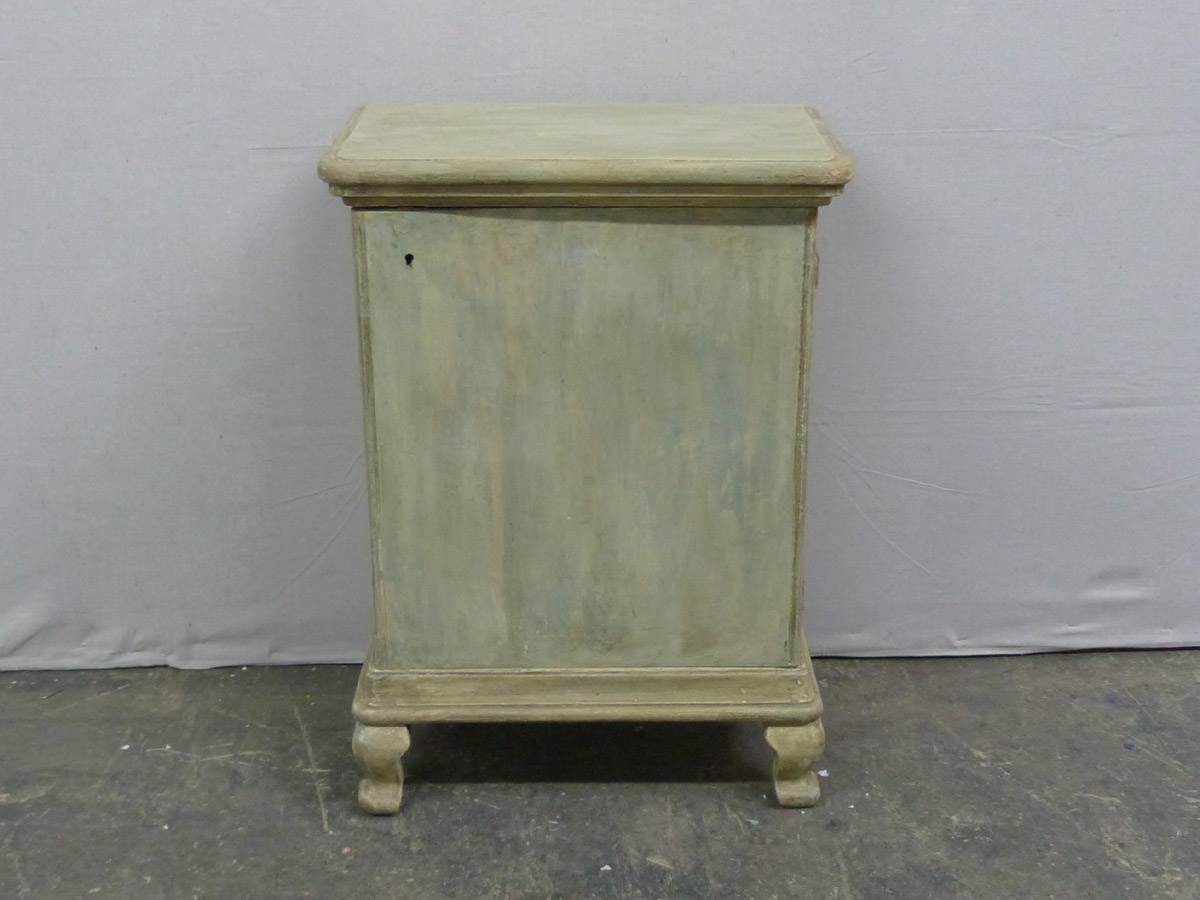 A Painted Wood Confiturier Cabinet