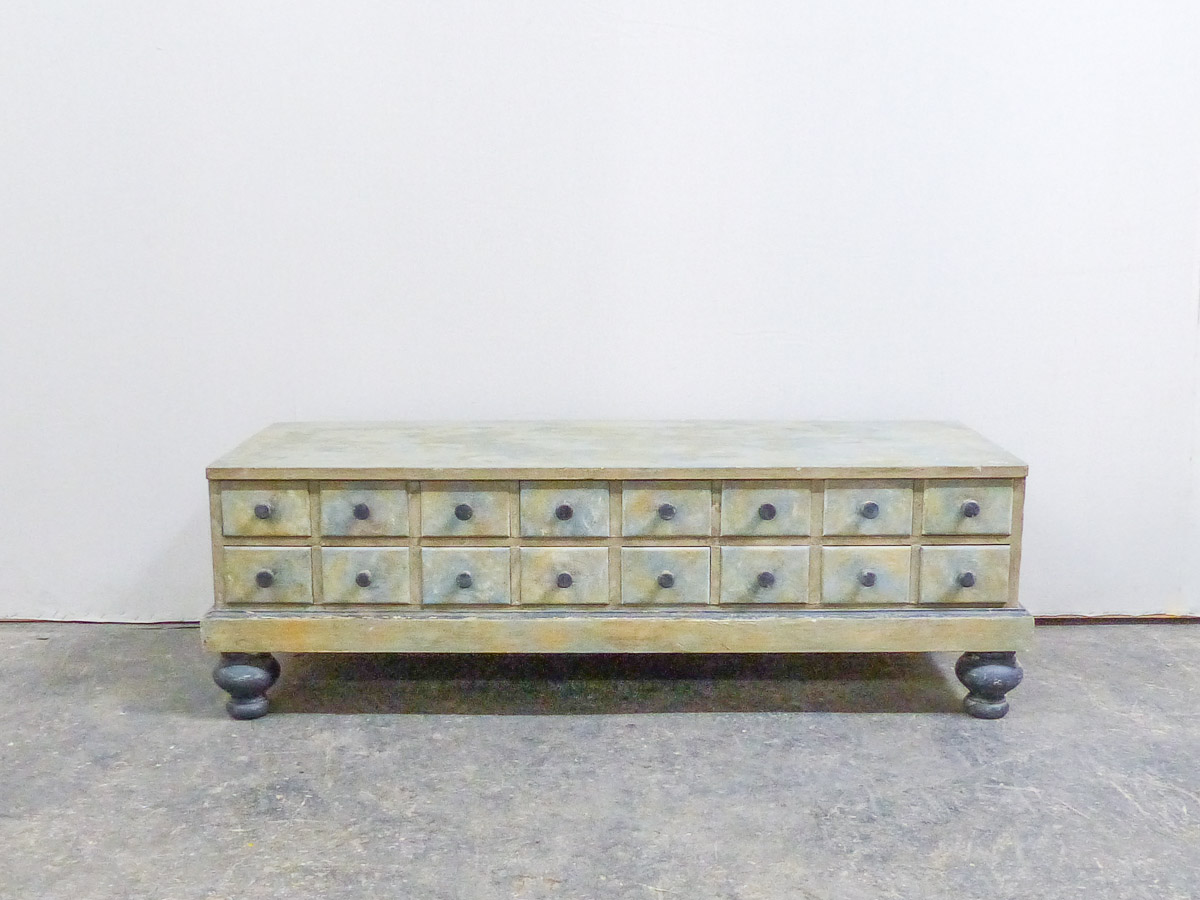 Swedish Apothecary Chest or Coffee Table