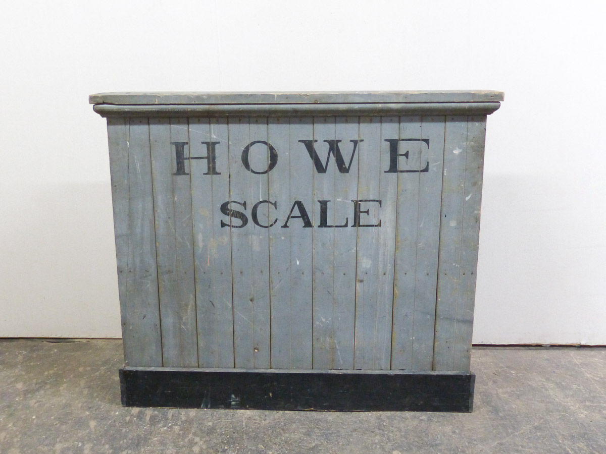 "Unique ""Howe Scale"" Cabinet, Early 20th C"