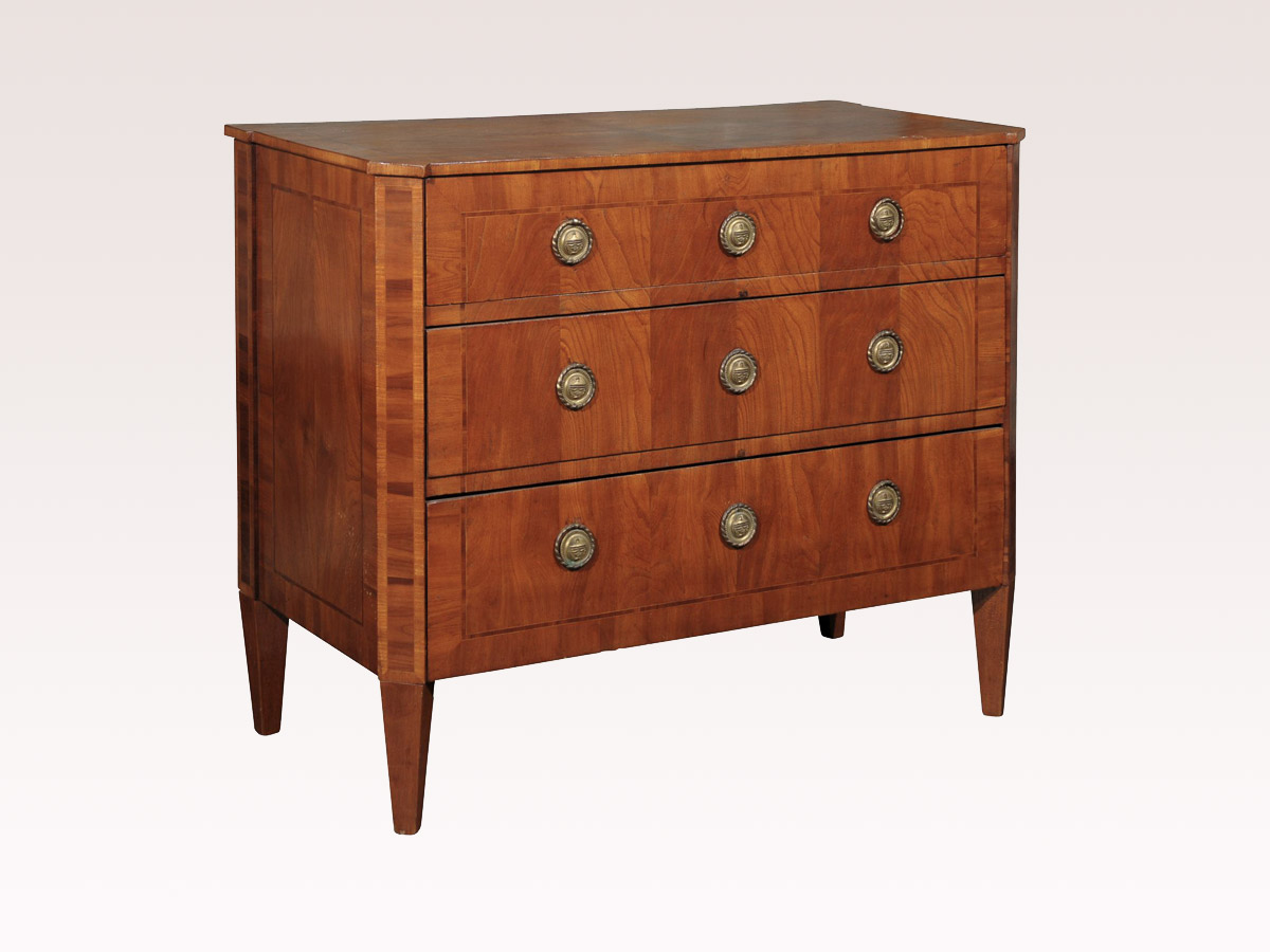 Swedish Period Gustavian Chest, Circa 1780