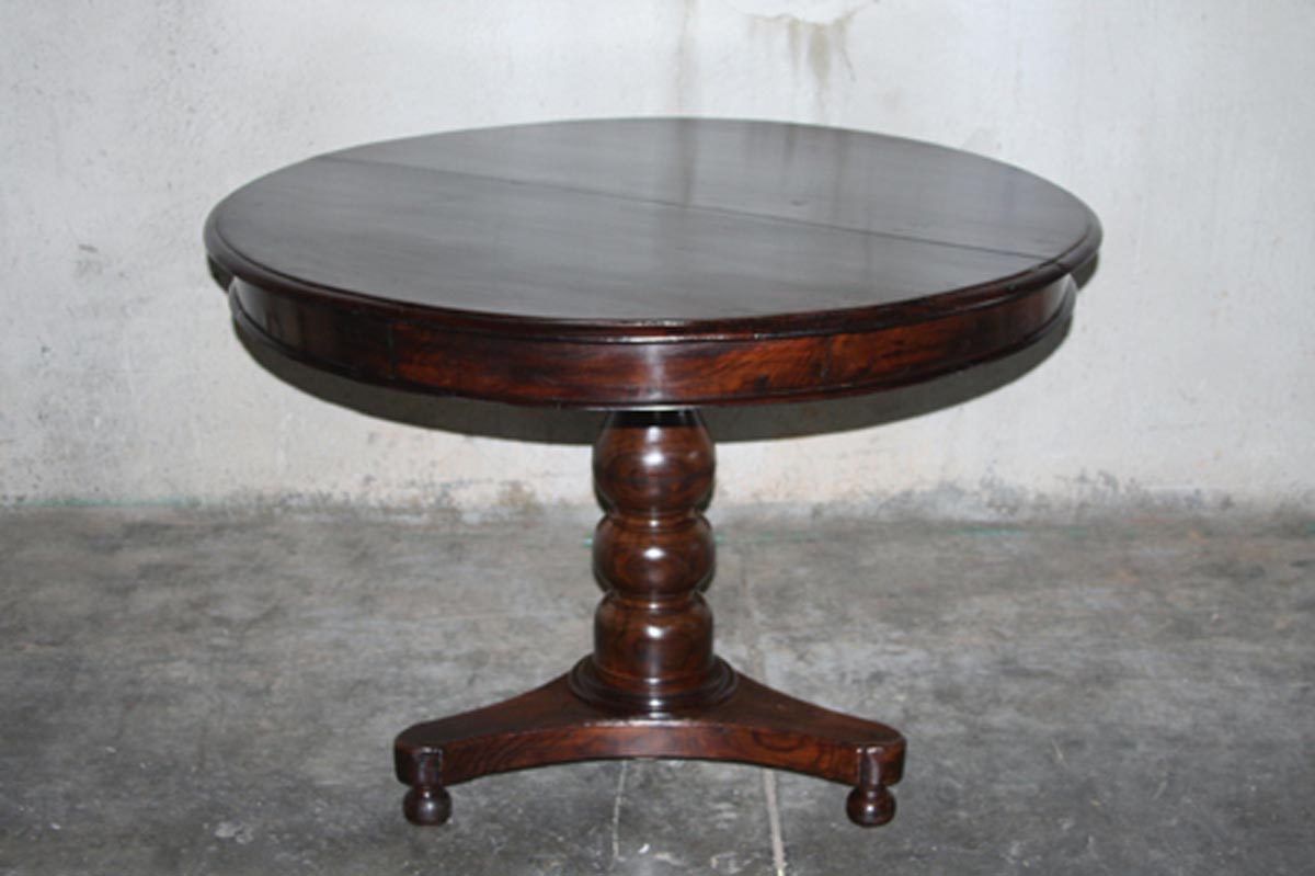 British Colonial Center Table, Circa 1900
