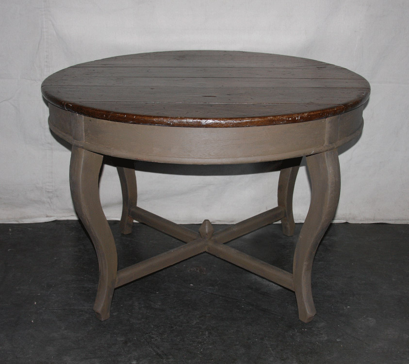 19th C. Painted Wood Center Table