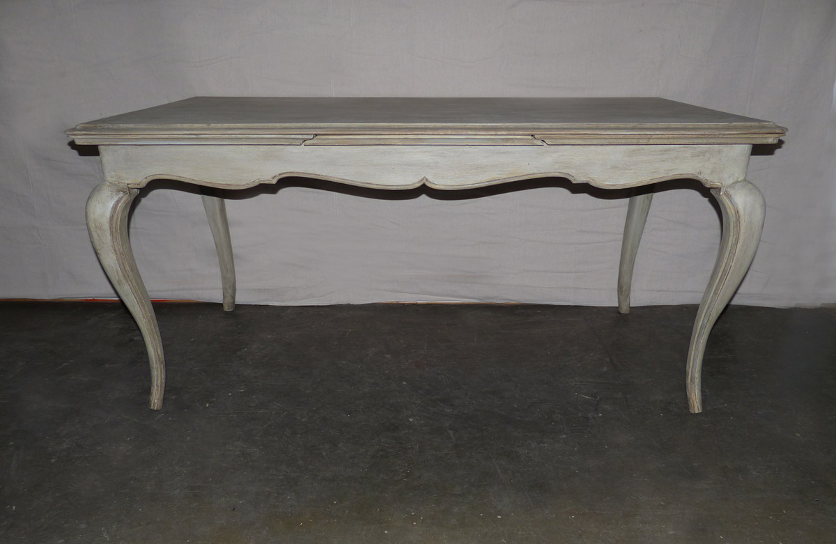 French Louis XV Style Table, Mid 20th C.