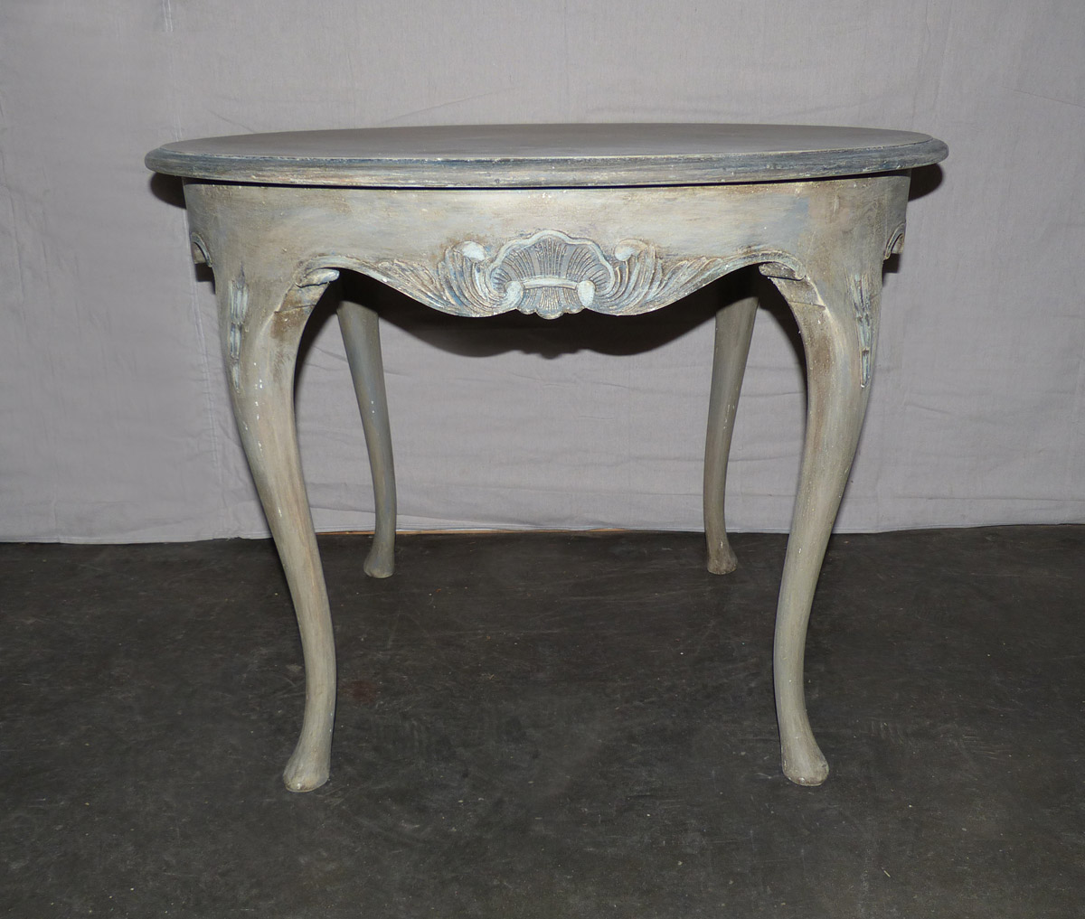 Swedish Rococo Style Occasional Table