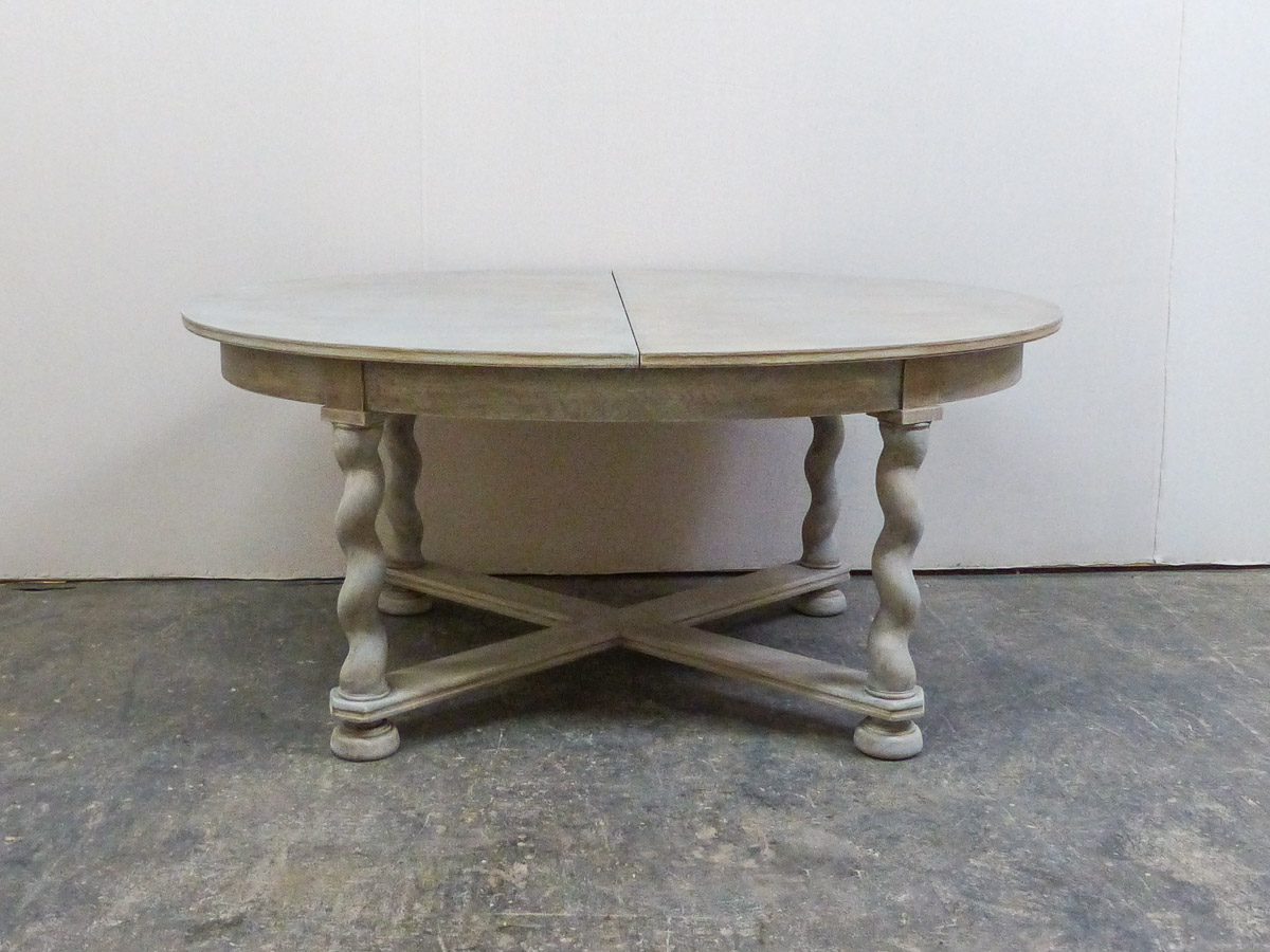 Swedish Baroque Style Table, Mid 20th C.
